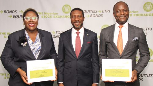 SEC Approves Appointment of CEOs of Demutualised Entities of NSE.  Onyema,  Popoola & Awe to Lead Group Companies