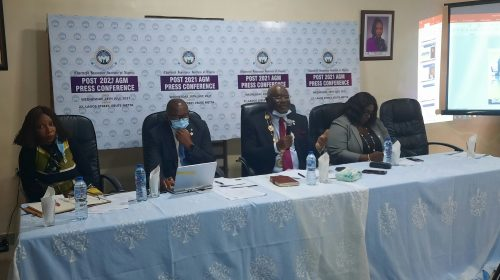 Faces At CIIN Press Briefing Today In Lagos