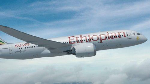 Ethiopian Airline resumes flight to Enugu October 1